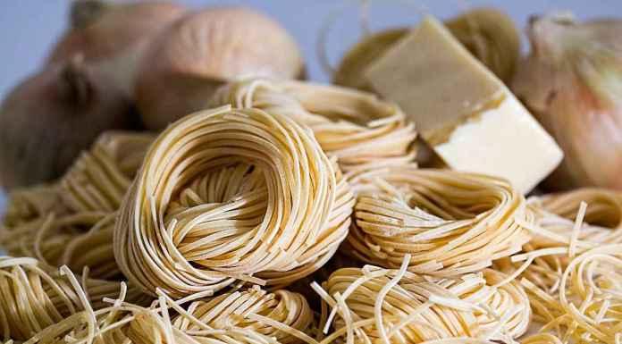 spaghetti e formaggio