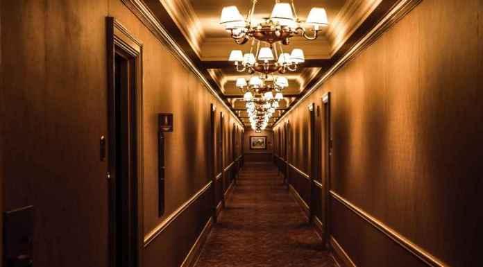 Corridoio di catene hotel