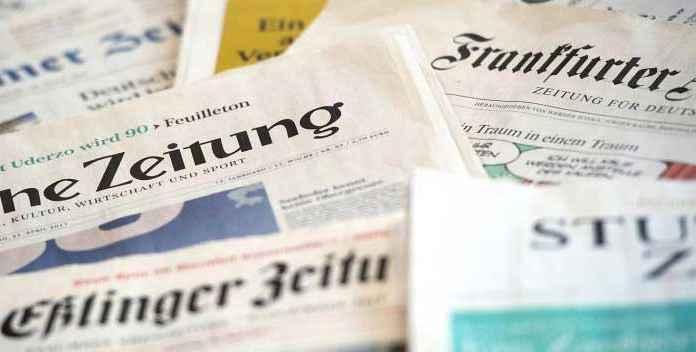 Giornali tedeschi