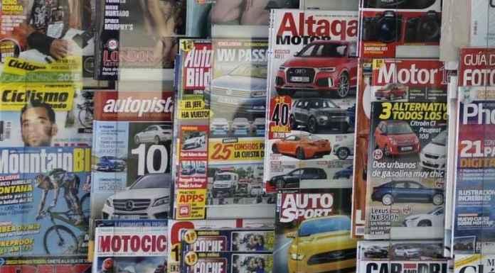 riviste di auto in edicola