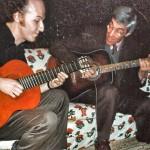 Fulvio Binetti con Franco Cerri