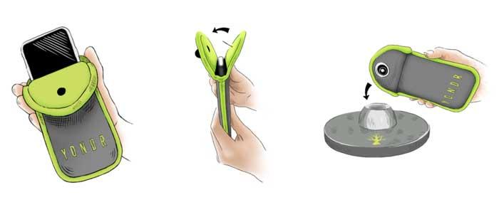 Yondr sacchetto smartphone
