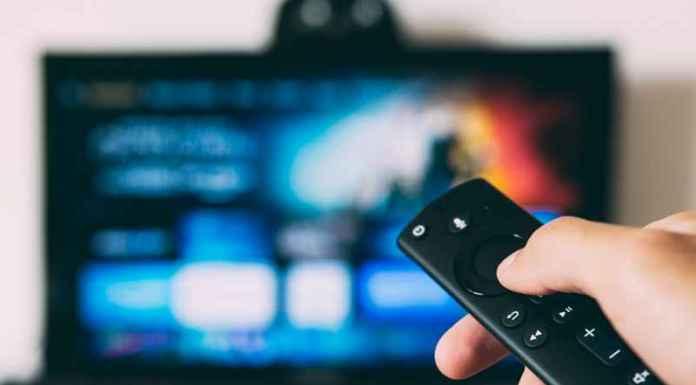Telecomando sceglie sport in tv