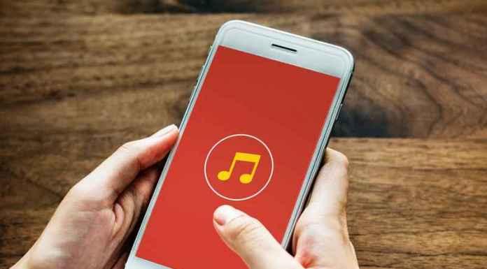 Musica ascoltata con smartphone