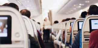 sedili aereo low cost