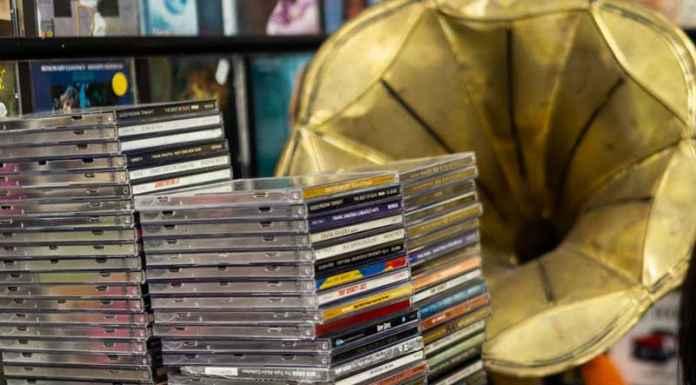 Pila di cd jazz