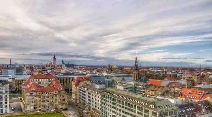 Città di vacanze in centro Europa