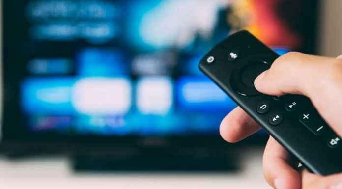Guida tv con telecomando