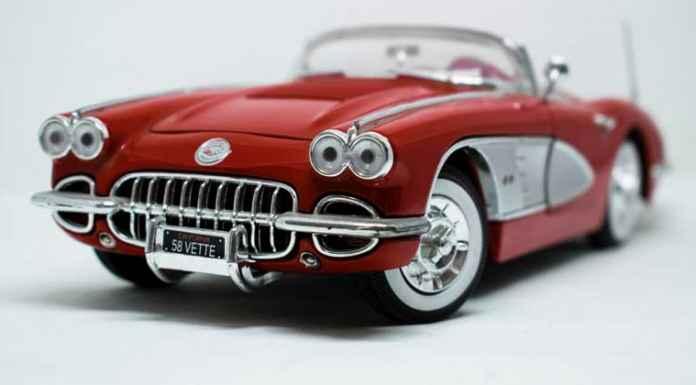 Auto da collezione di modellismo statico