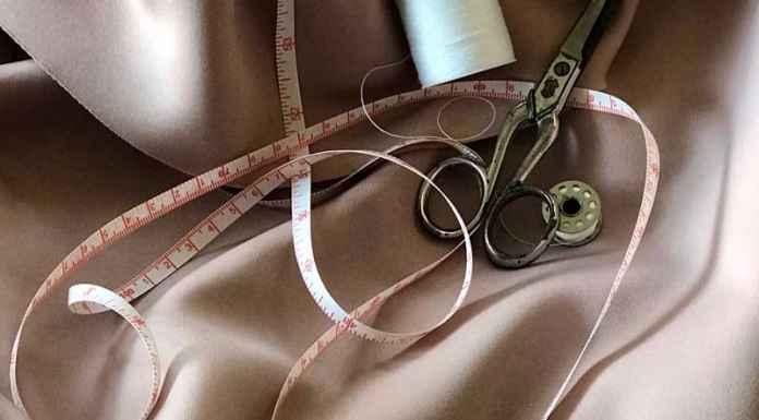 Metro per misurare taglie vestiti