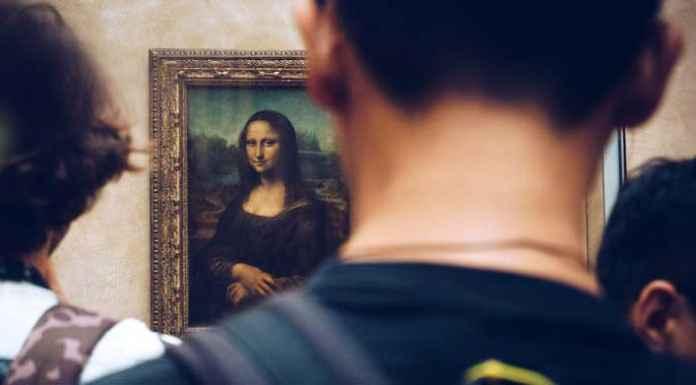 Gioconda al museo d'arte del Louvre