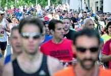 Corridori di una maratona