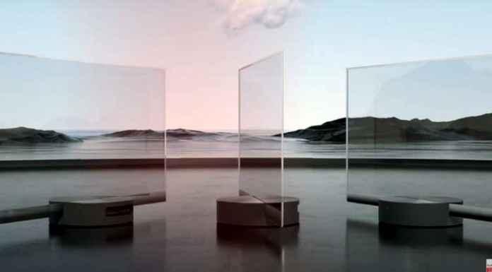 Smart tv trasparenti