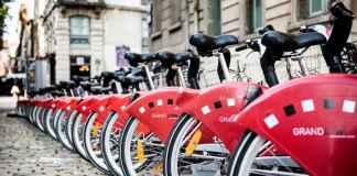 Ciclismo urbano in sharing