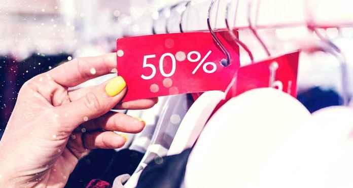 Sconto e prezzi bassi nella moda