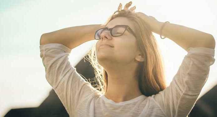 Meditazione di una ragazza